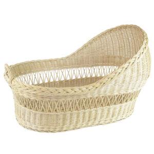 wiklinowe łóżeczko dla dziecka